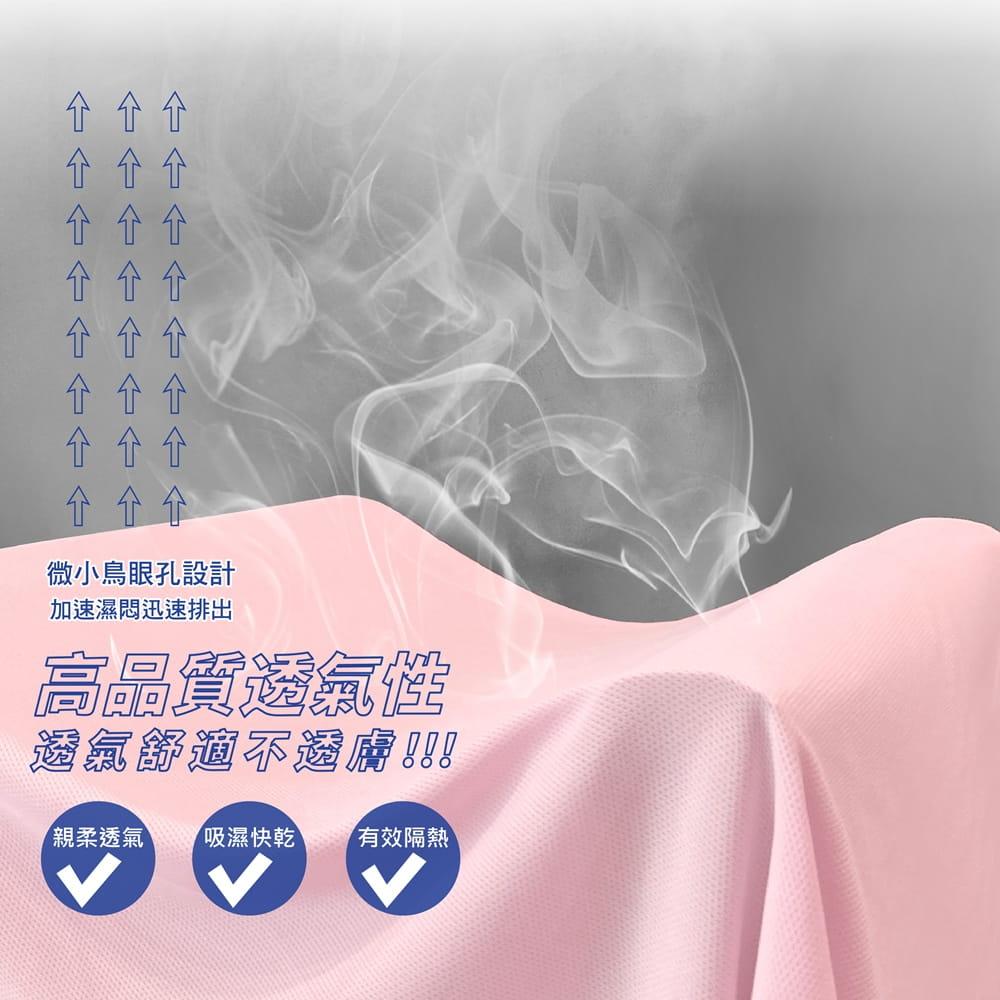【MI MI LEO】台灣製高透氣涼爽吸排衣-男女適穿 6