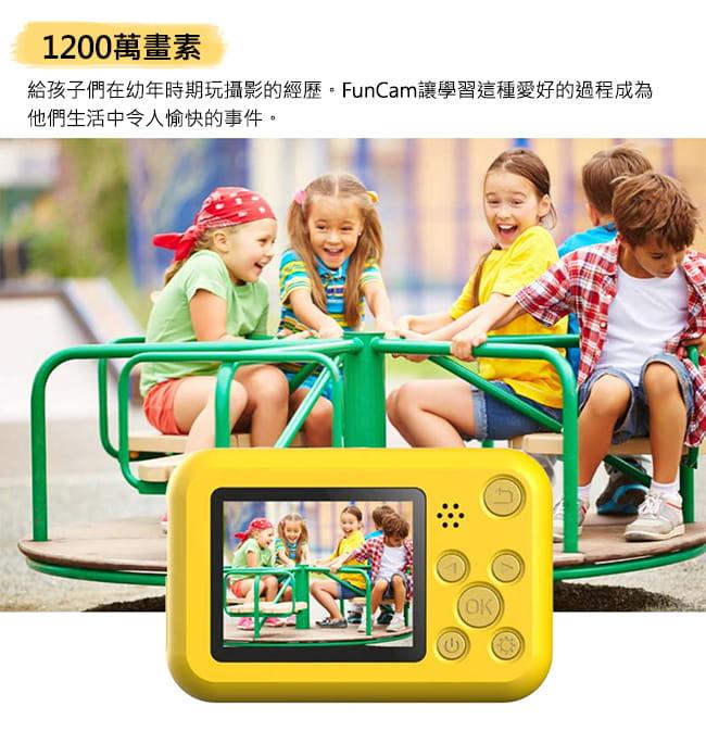 【SJCAM】【贈32記憶卡】FUNCAM高清1080P兒童專用相機 (卡通版/單色版) 3