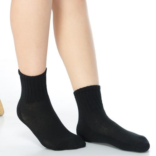 3~6歲學童專用毛巾底氣墊短襪x4雙C93002