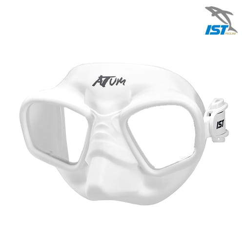 【IST】MIT ATUM 自由潛水面鏡 超低容積 無框設計 MP208 4