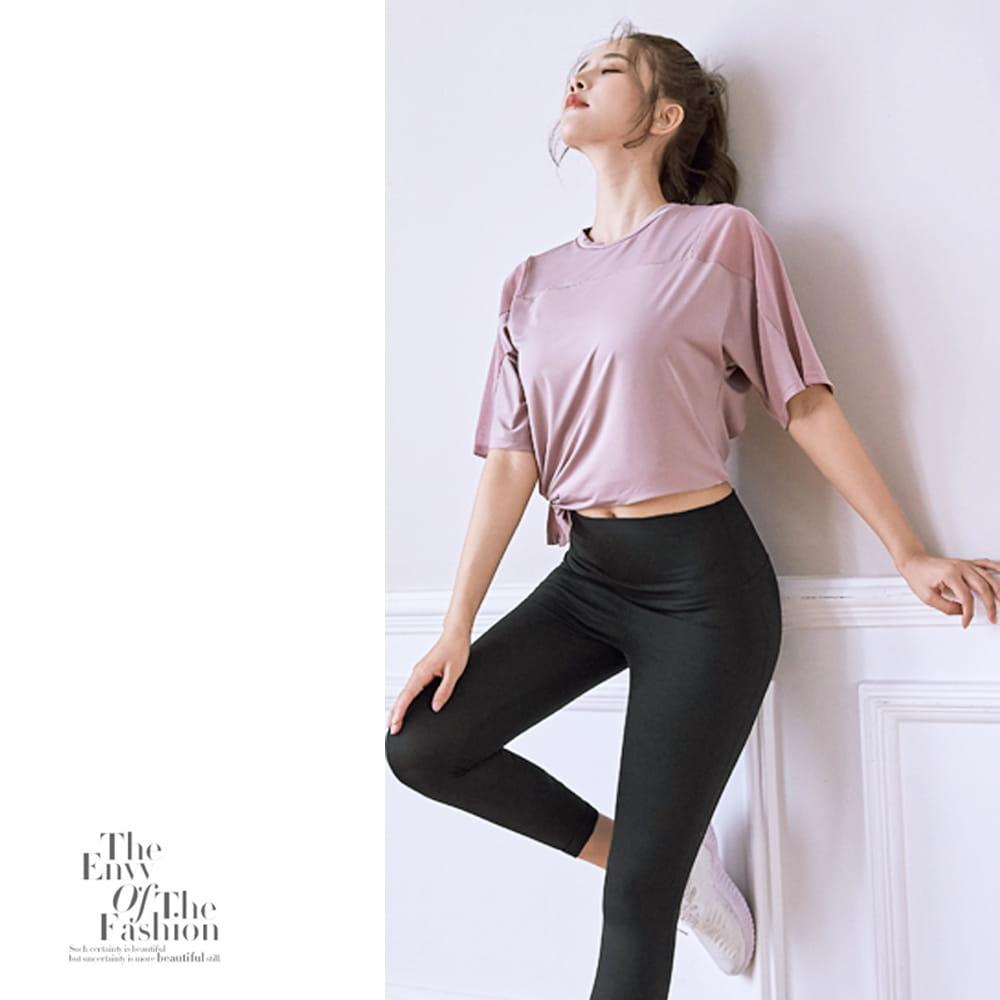 【NEW FORCE】寬鬆透氣健身瑜珈女上衣-3色可選 8