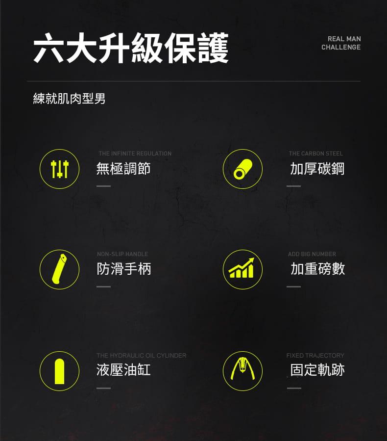 臂力器可調節男士家用訓練健身器材鍛煉胸肌手臂練臂肌臂力棒 4