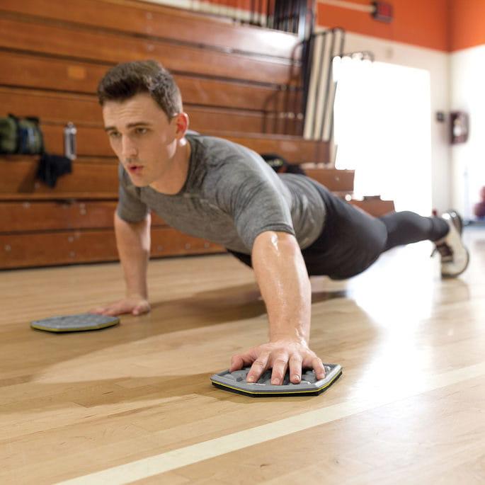 【Shaper Man】COURT SLIDEZ 第二代核心肌力訓練滑盤 0