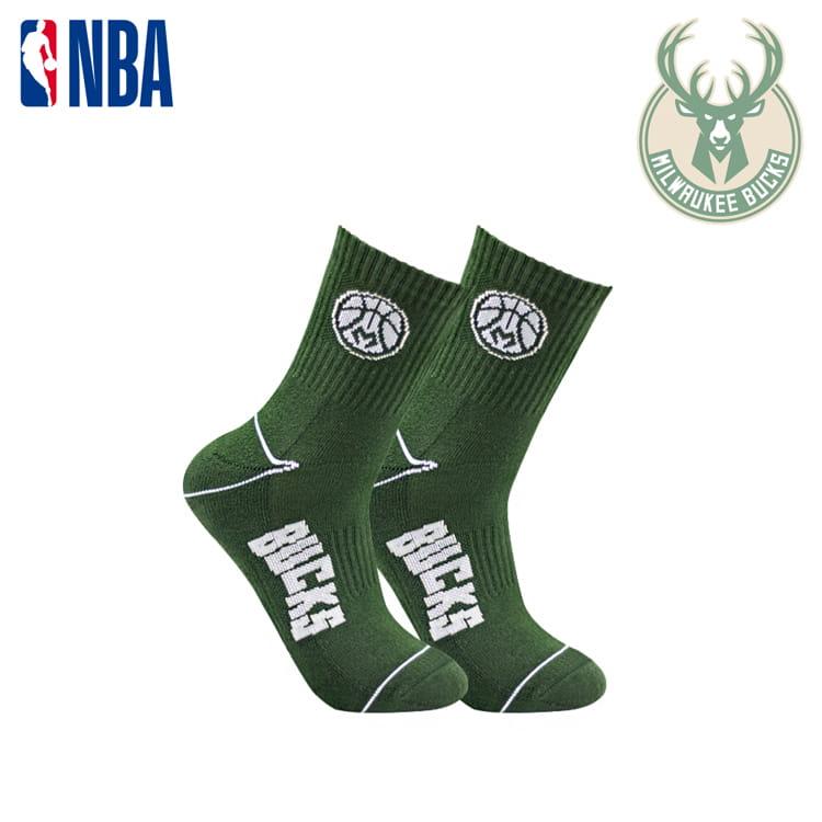【NBA】 公鹿隊球迷裝備襪巾組合 5