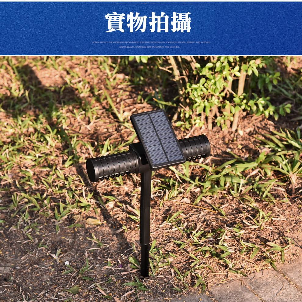 【JAR嚴選】太陽能雙頭兩用滅蚊燈(節能 環保 靜音滅蚊) 14