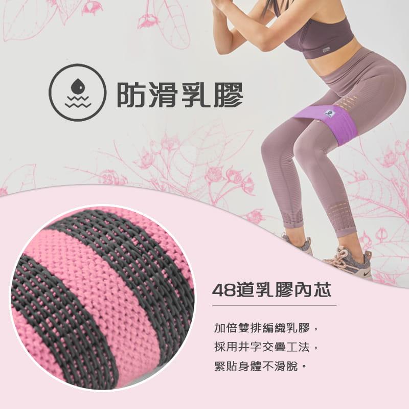 【MACMUS】升級防滑乳膠彈力翹臀圈|健身運動、深蹲、瑜珈|阻力圈虐臀圈 2