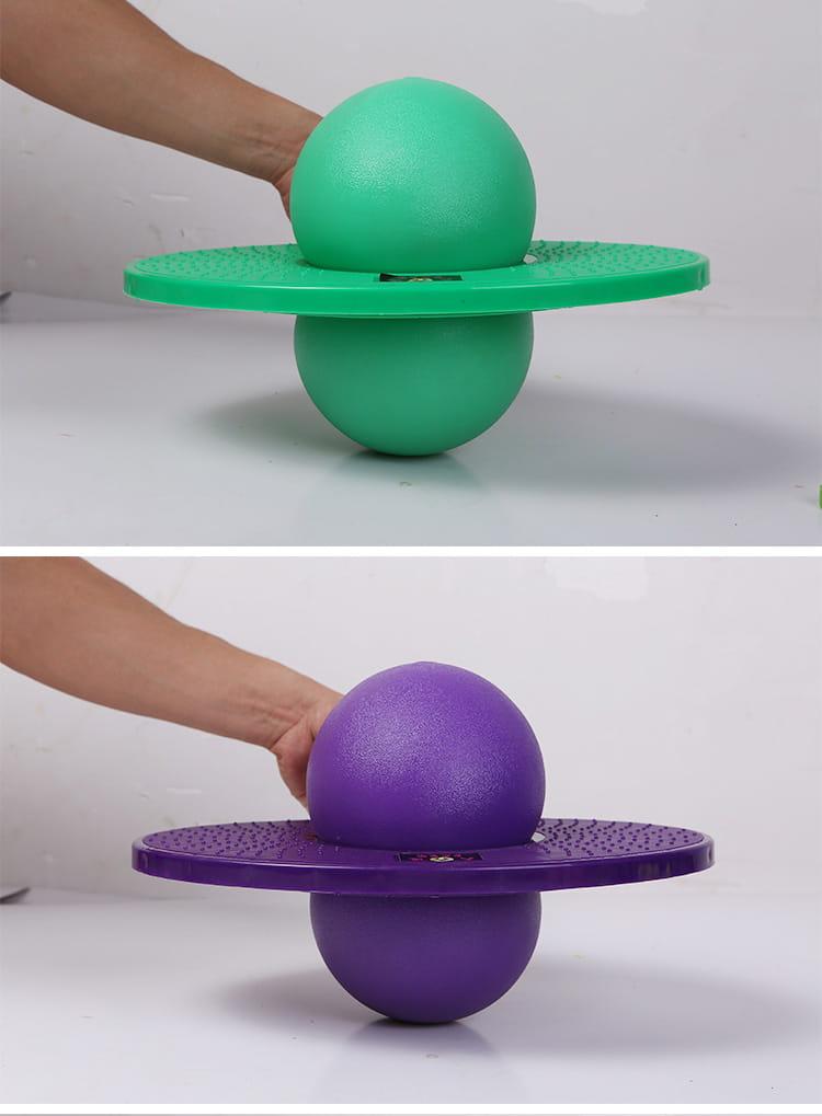 運動跳跳球彈跳球健身平衡球 9