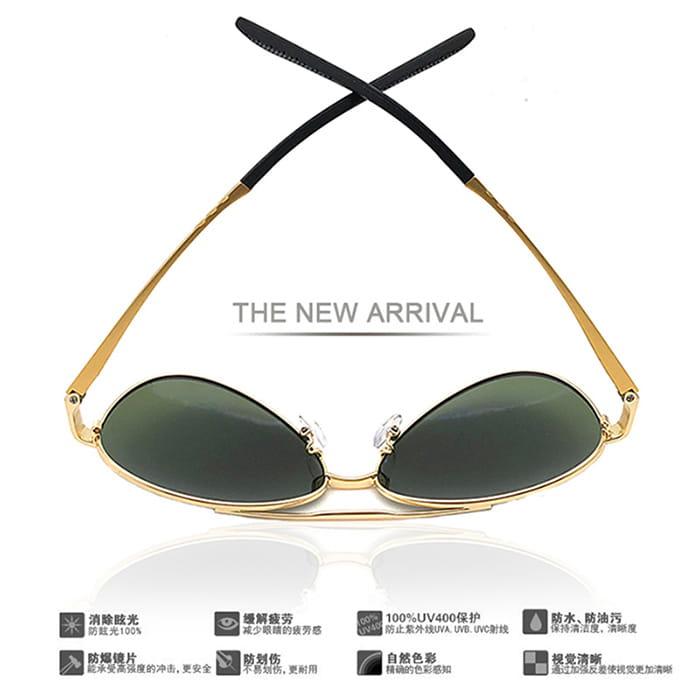 【suns】鋁鎂合金飛行員偏光太陽眼鏡 抗UV (W0201) 2