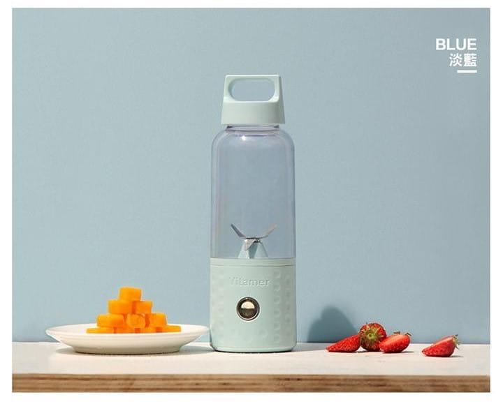 自動果汁隨行果汁機 榨汁機  USB 充電 手提把設計 15