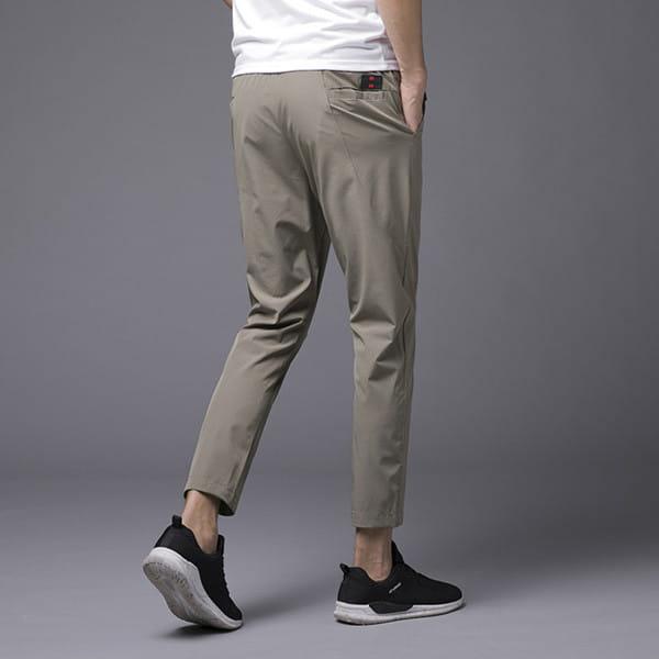 素面鬆緊腰彈力休閒褲/直筒褲/運動褲/加大碼 L-8XL碼【CP16036】 10