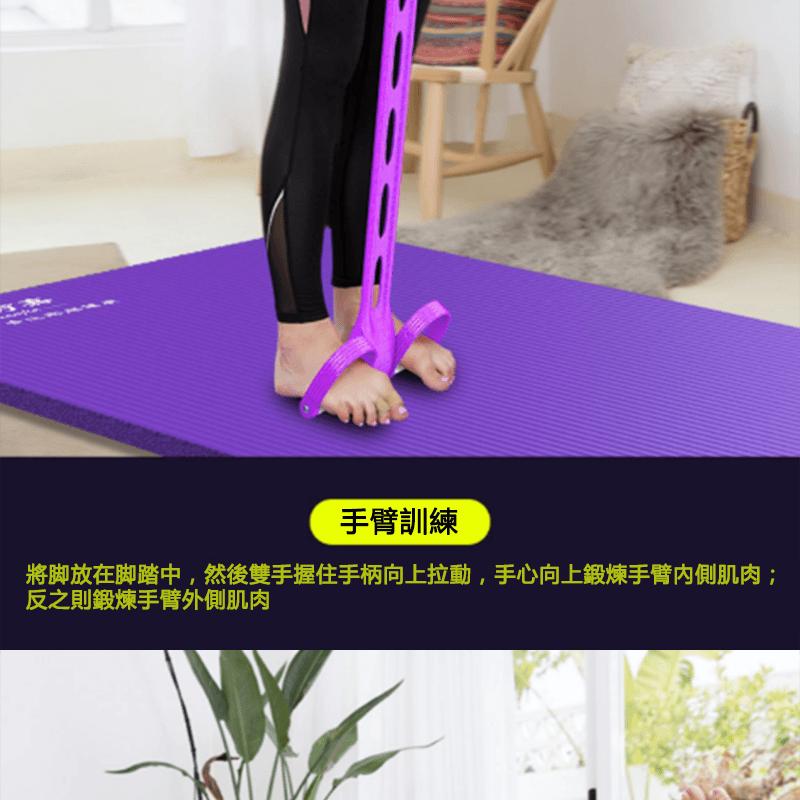 仰臥起坐腳蹬拉力健身器材 4