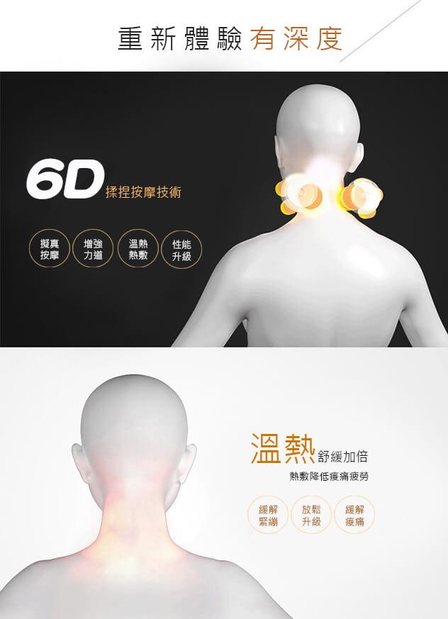 【健身大師】-愛健康6D肩頸揉捏按摩器 4