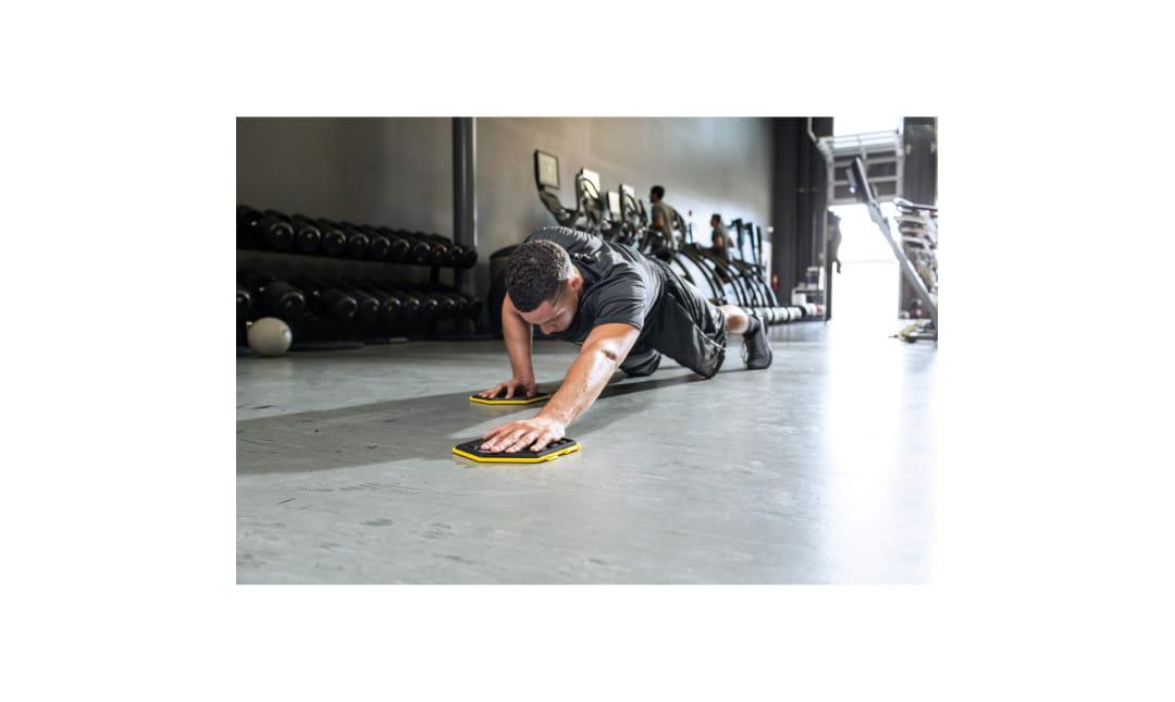 【Shaper Man】美國SKLZ SLIDEZ 肌力核心訓練滑盤 4