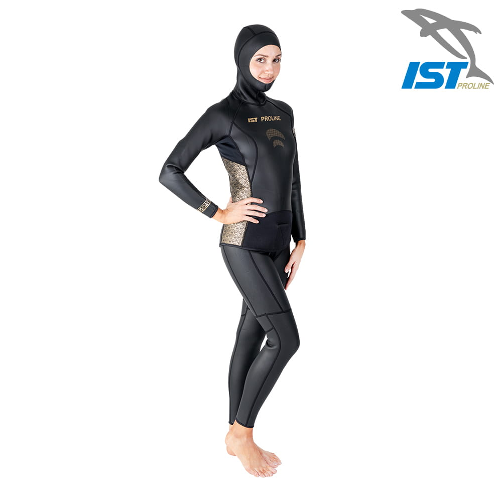 【IST】WSH-03 二件式Neoskin自由潛水防寒衣 15