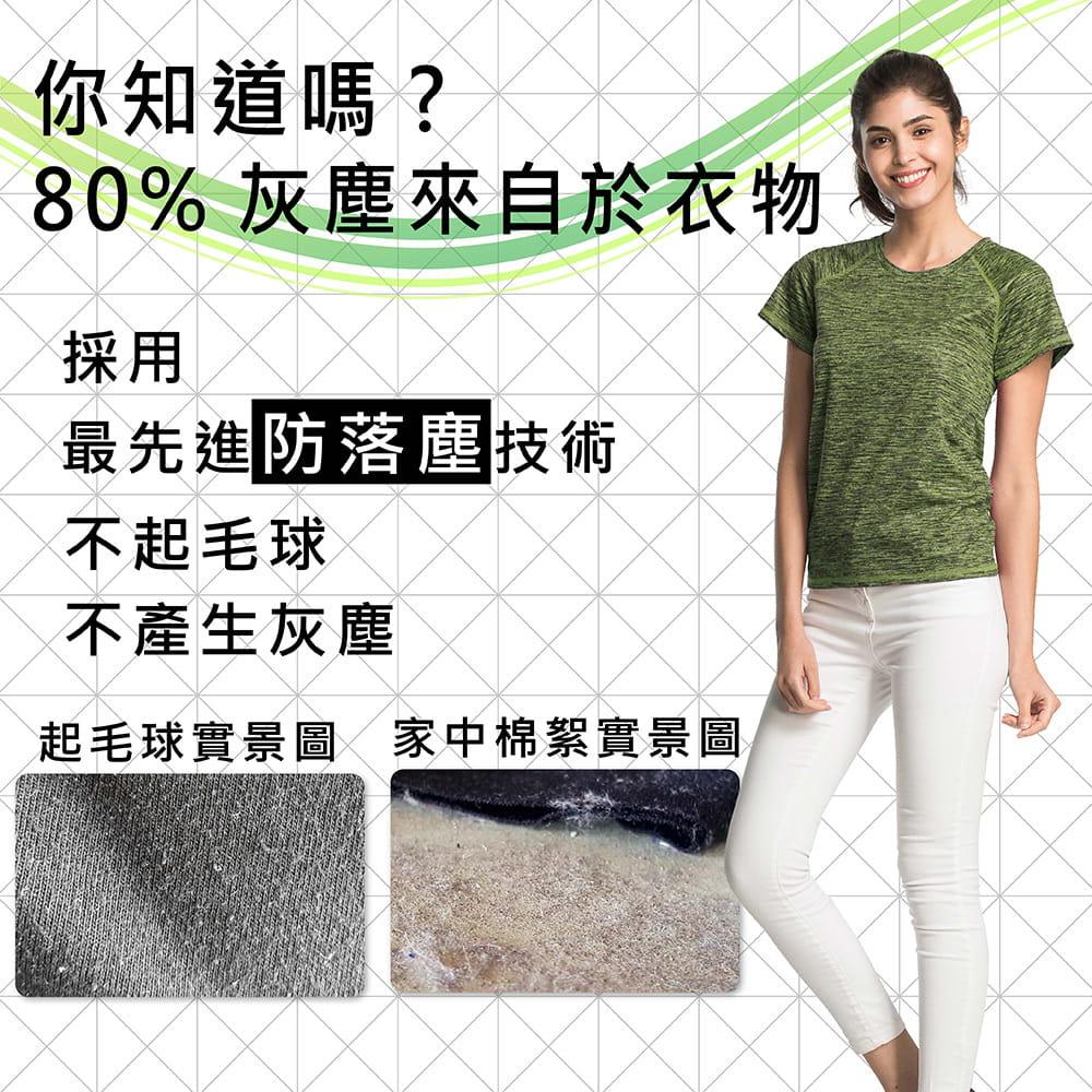 【MI MI LEO】台灣製神奇速乾全功能竹炭髮絲紋機能衣(12色) 5