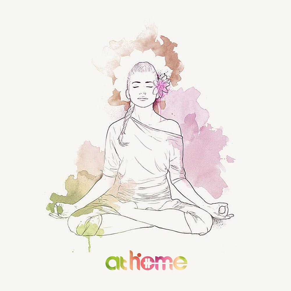 【athome】 瑜珈墊保潔毯 10