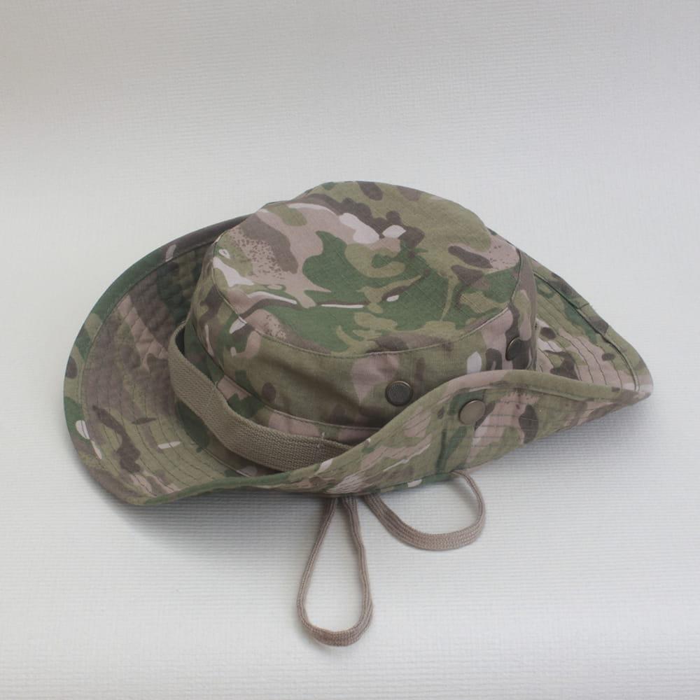 【E.City】可翻釦迷彩風戶外遮陽帽漁夫帽 10