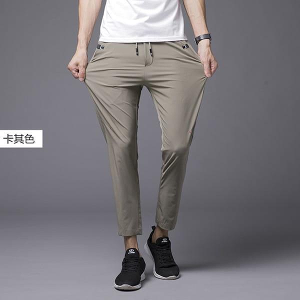 素面鬆緊腰彈力休閒褲/直筒褲/運動褲/加大碼 L-8XL碼【CP16036】 9