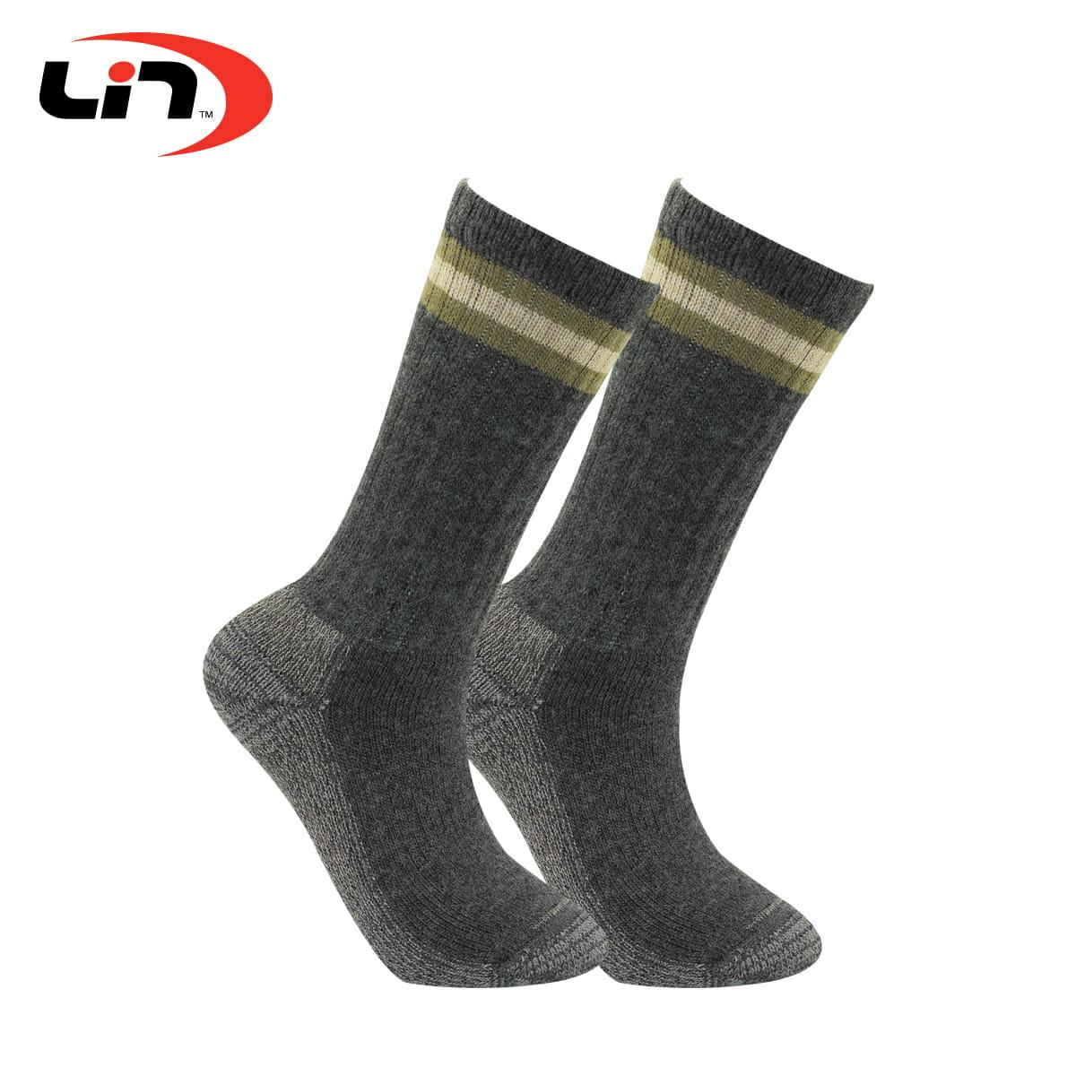【Lin】戶外登山襪三雙組 8