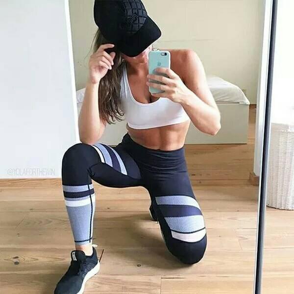 運動休閒長褲韻律有氧跑步瑜珈-KOI 2