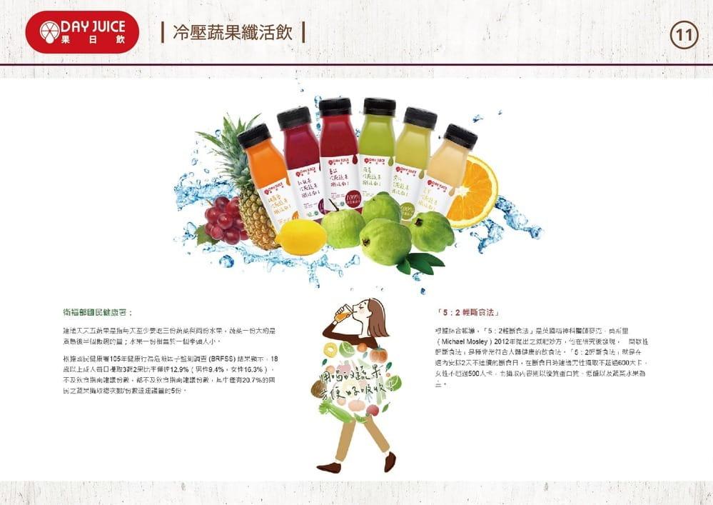 【DayJuice 果日飲】Day Juice 果日飲 冷壓蔬果纖活飲7-12號 (6入) 10