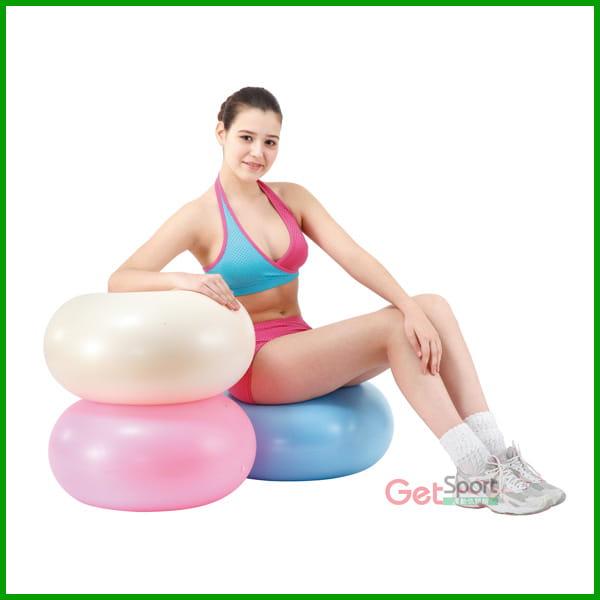 甜甜圈防爆瑜珈球 0