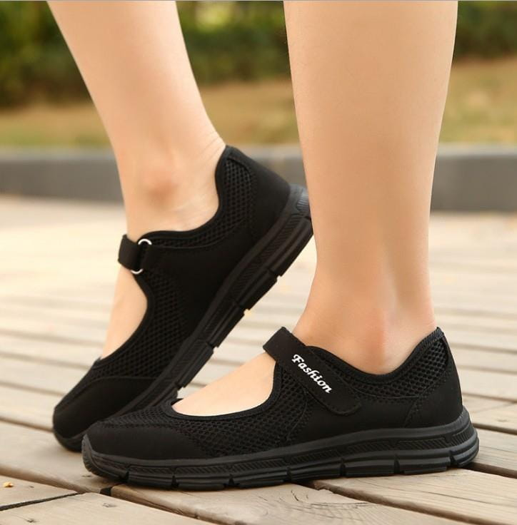 【JAR嚴選】超軟底透氣舒適彈力健走鞋(超軟底 彈力 舒適) 4