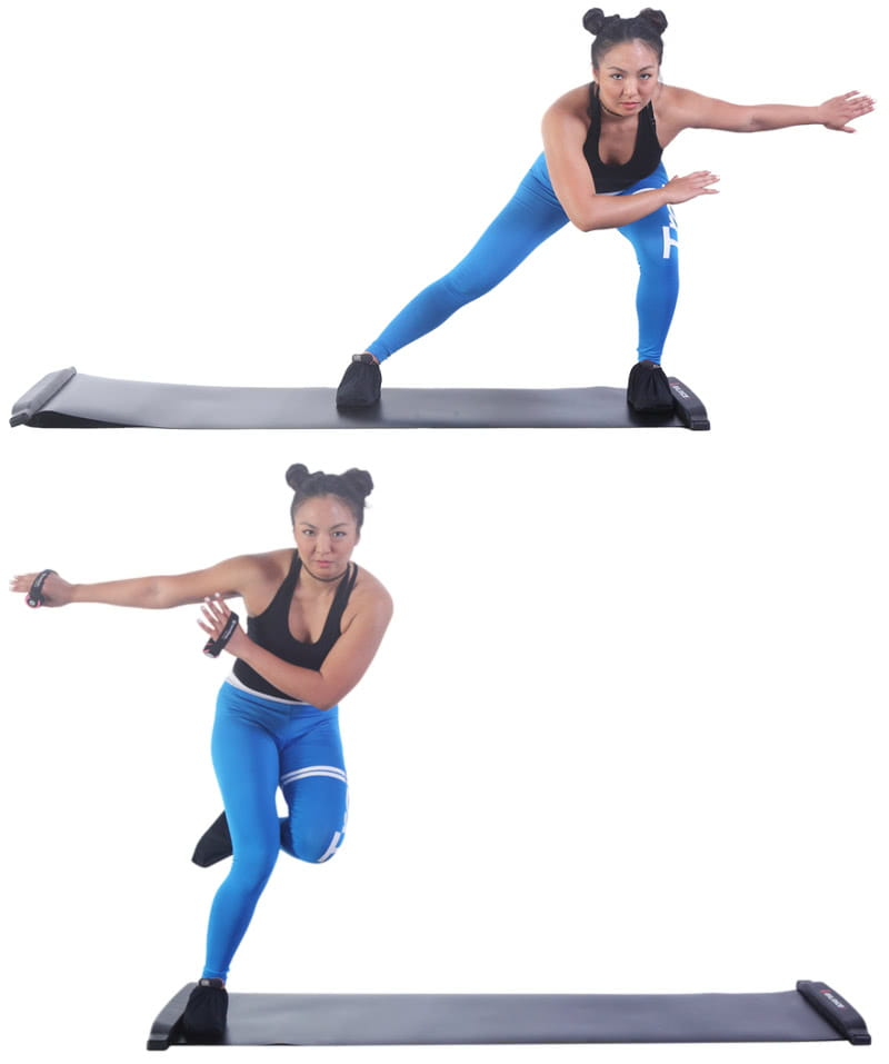 【BALANCE 1】橫向核心肌群訓練 滑步器豪華版230cm 12