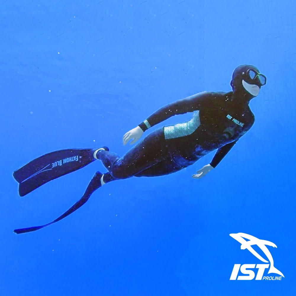 【IST】WSH-03 二件式Neoskin自由潛水防寒衣 4