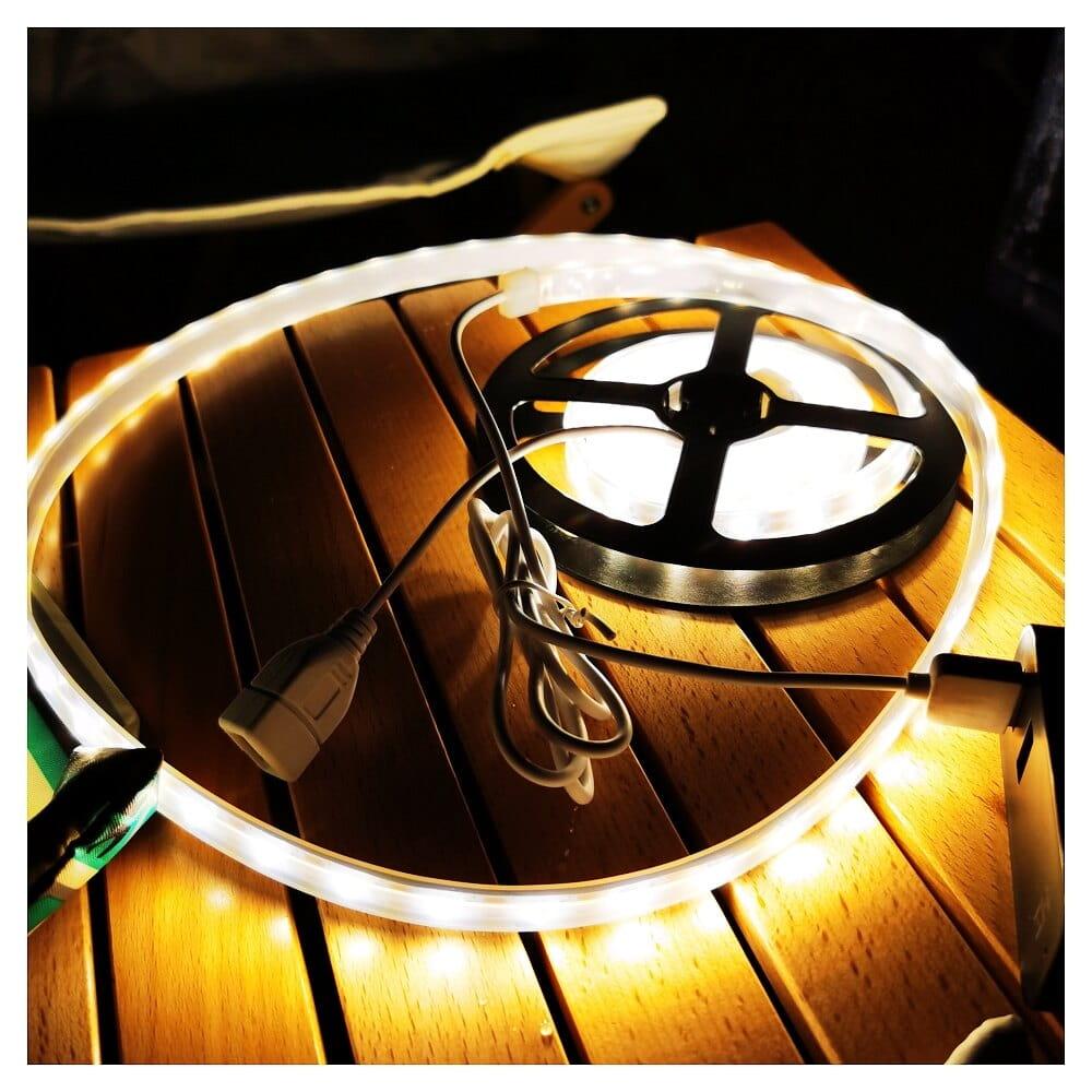 露營燈LED多功能防水帳篷天幕燈帶多種顏色VIDALIDO 0