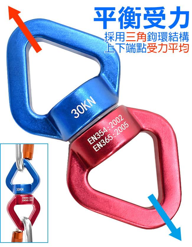 雙吊點萬向扣環   空中瑜珈固定萬向環 5