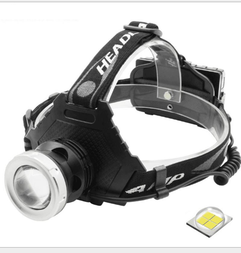 T50型變焦P70頭燈+USB線(單賣) 9