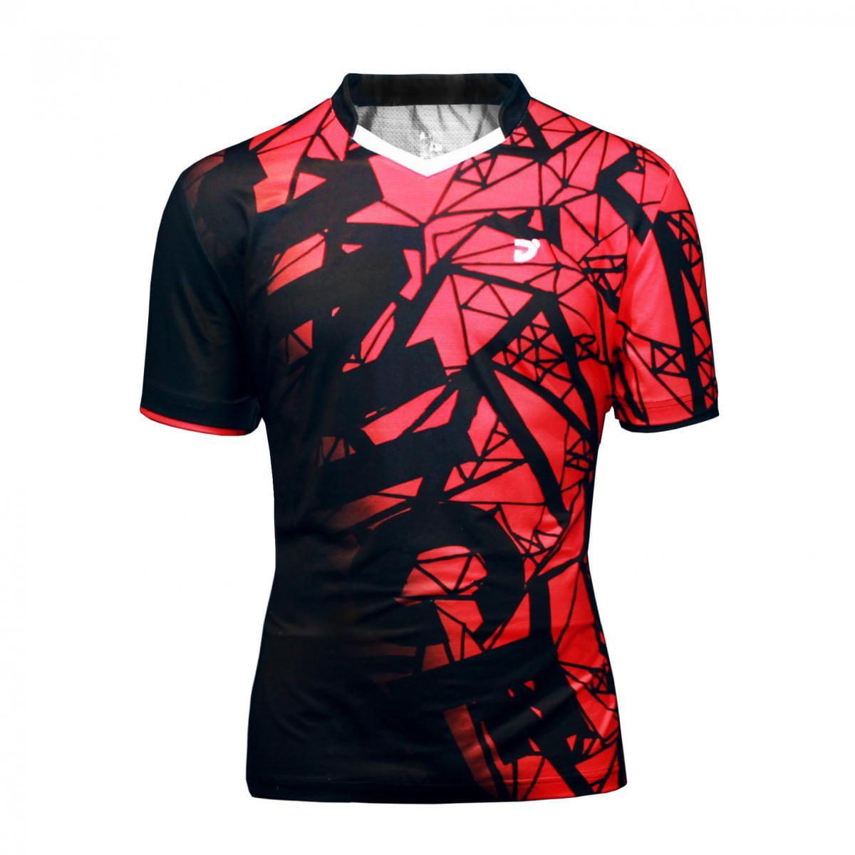 紅鑽羽球競技衫