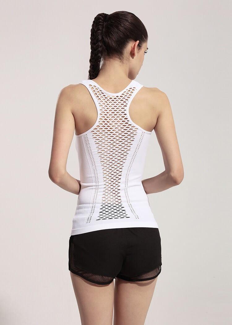 運動休閒 背心上衣 運動韻律有氧跑步瑜珈LETS SEA-KOI 5