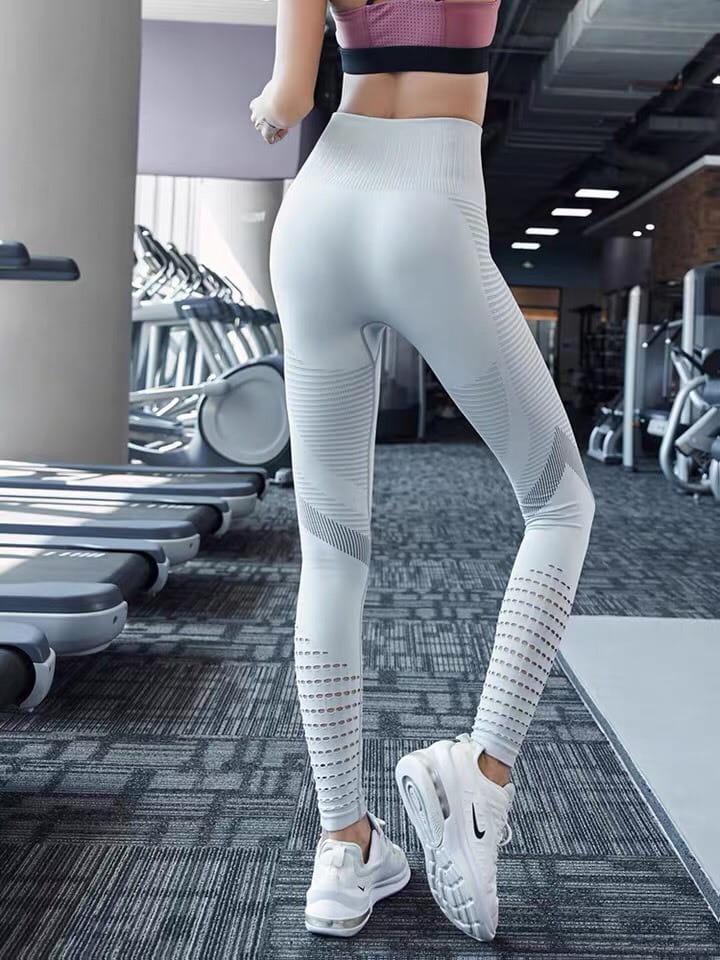 運動長褲無縫大尺碼S-XL韻律有氧跑步瑜珈-KOI 2