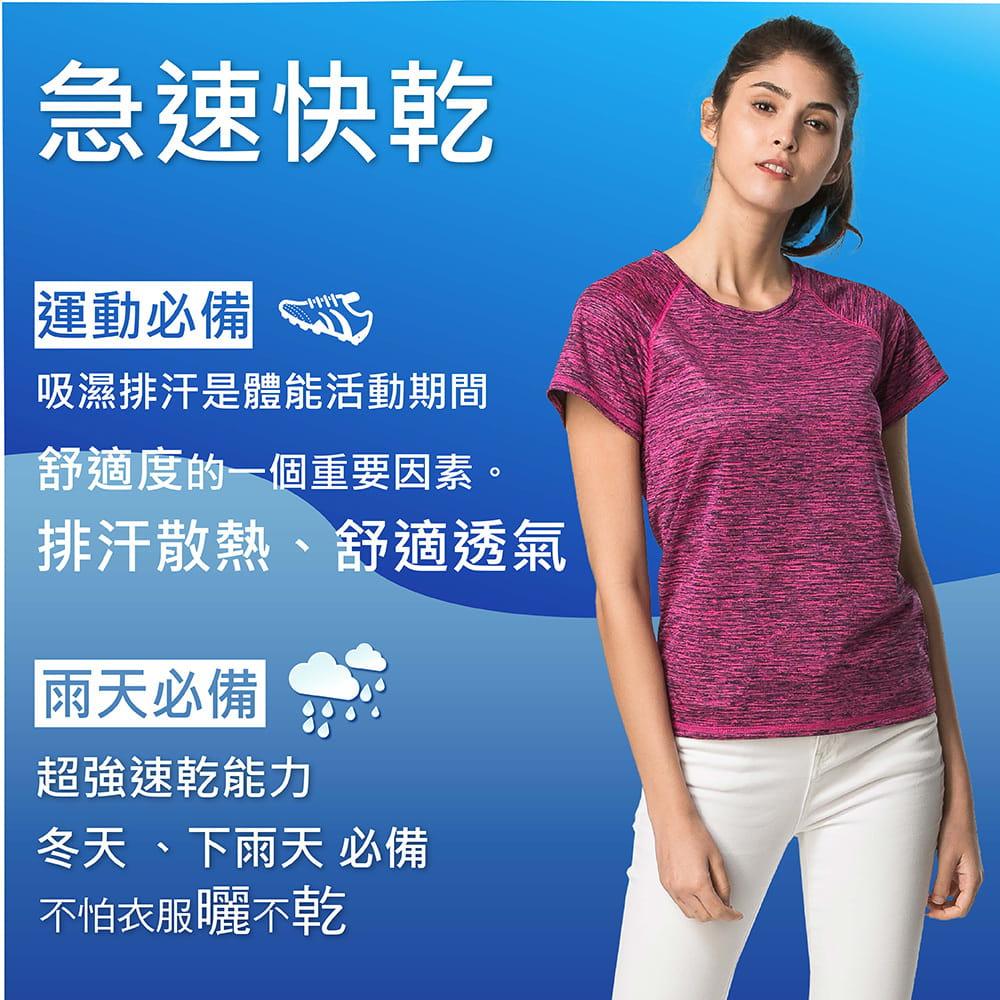【MI MI LEO】台灣製神奇速乾全功能竹炭髮絲紋機能衣(12色) 3