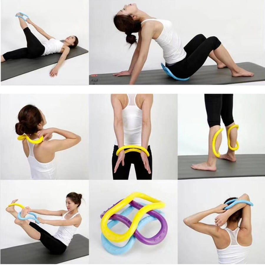 韓版 瑜珈環 魔力圈 瑜伽圈 拉筋環 筋膜按摩 拉伸環 7