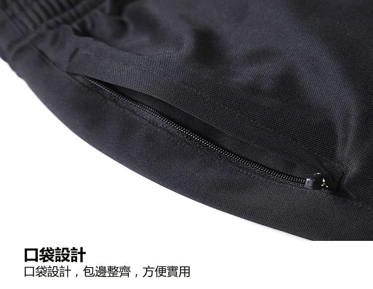 拉鍊口袋速乾透氣休閒運動短褲 8