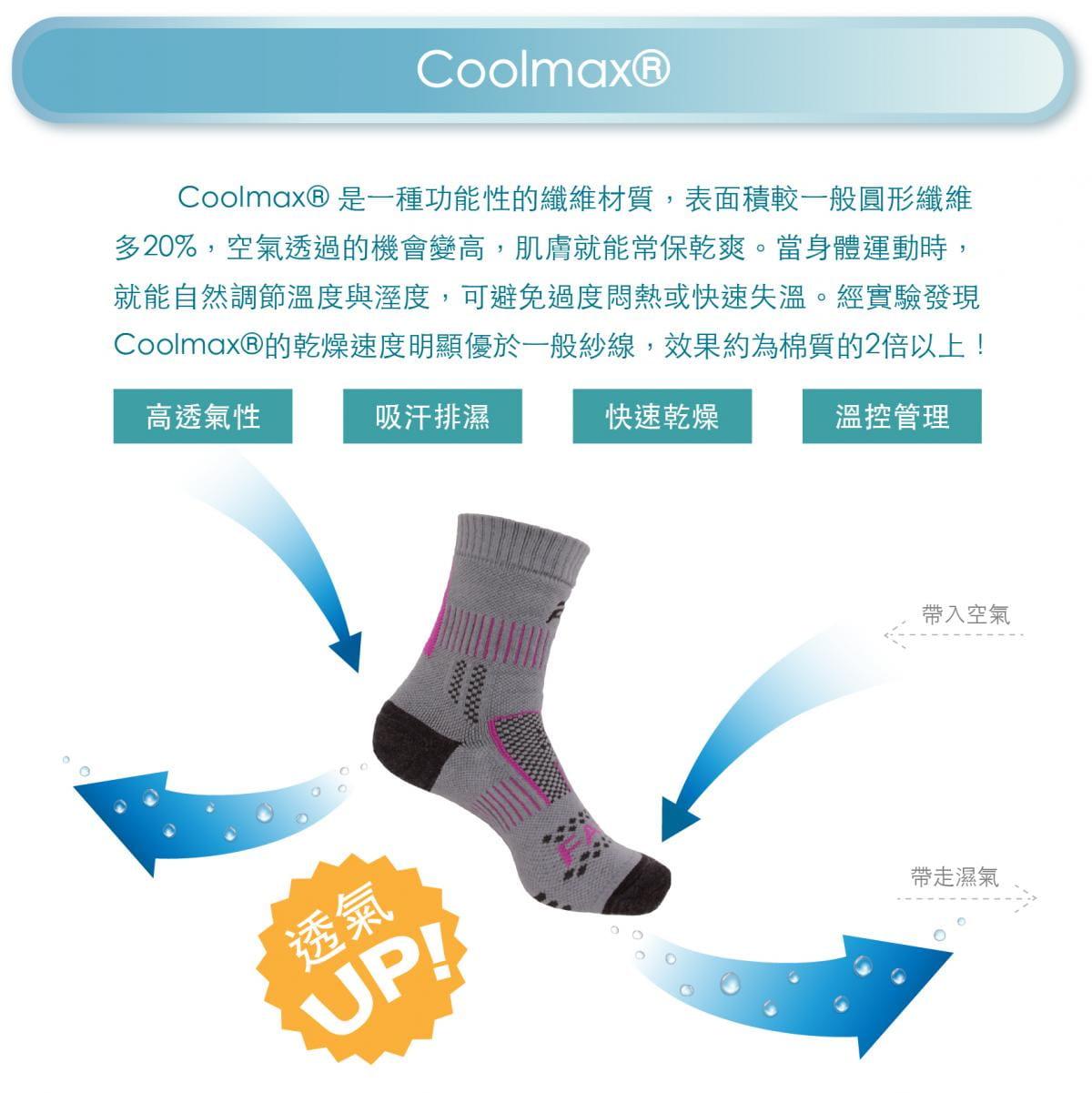 【FAV】止滑加厚保暖登山襪 4