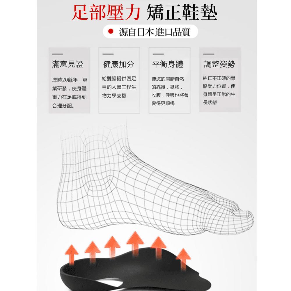 日本運動扁平足矯正鞋墊 6