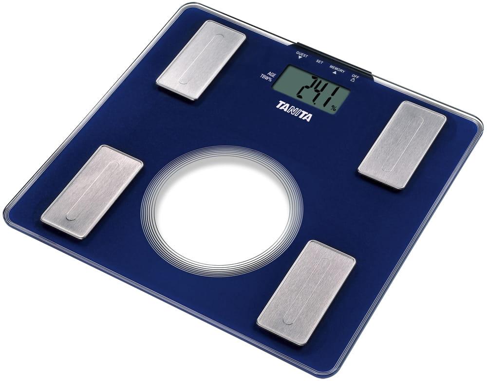【TANITA 塔尼達】三合一體脂肪計 UM040 (藍/白/紫) 1