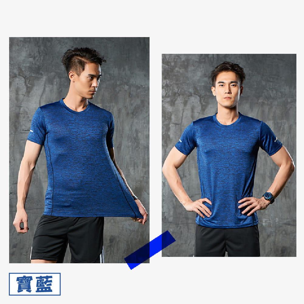 【NEW FORCE】運動機能吸濕排汗衫-4色可選 6