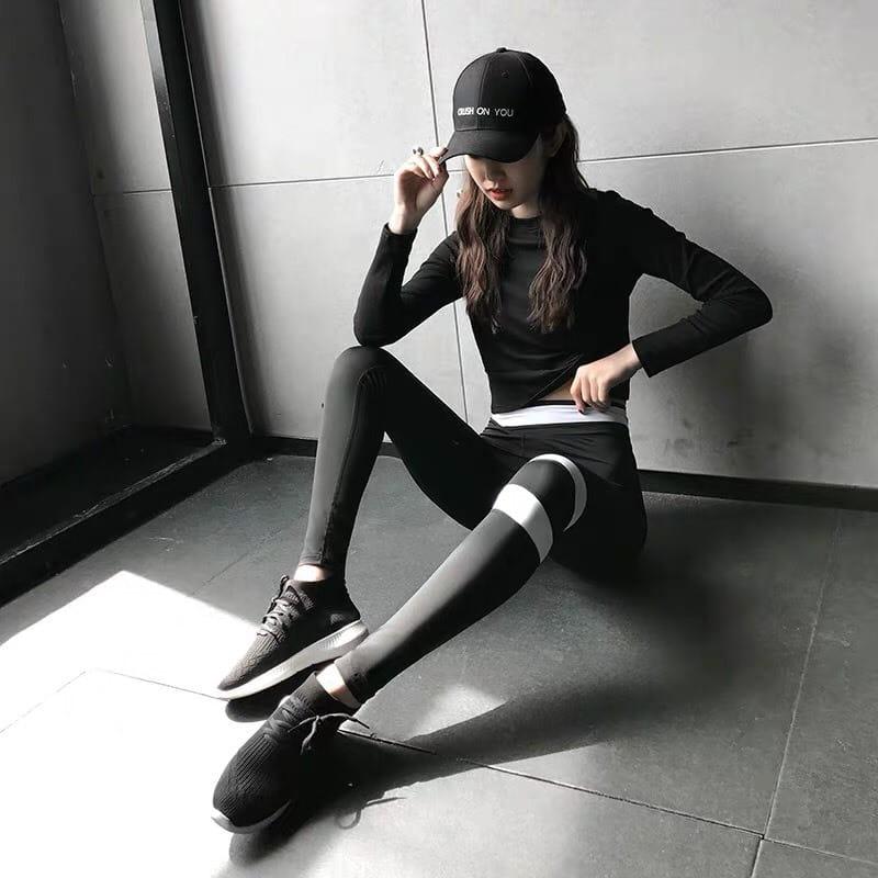 運動休閒長褲韻律有氧跑步瑜珈-KOI 5