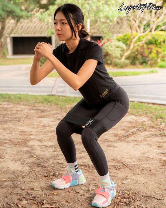 【LEXPORTS 勵動風潮】健身翹臀圈◆高量級 2.0 3
