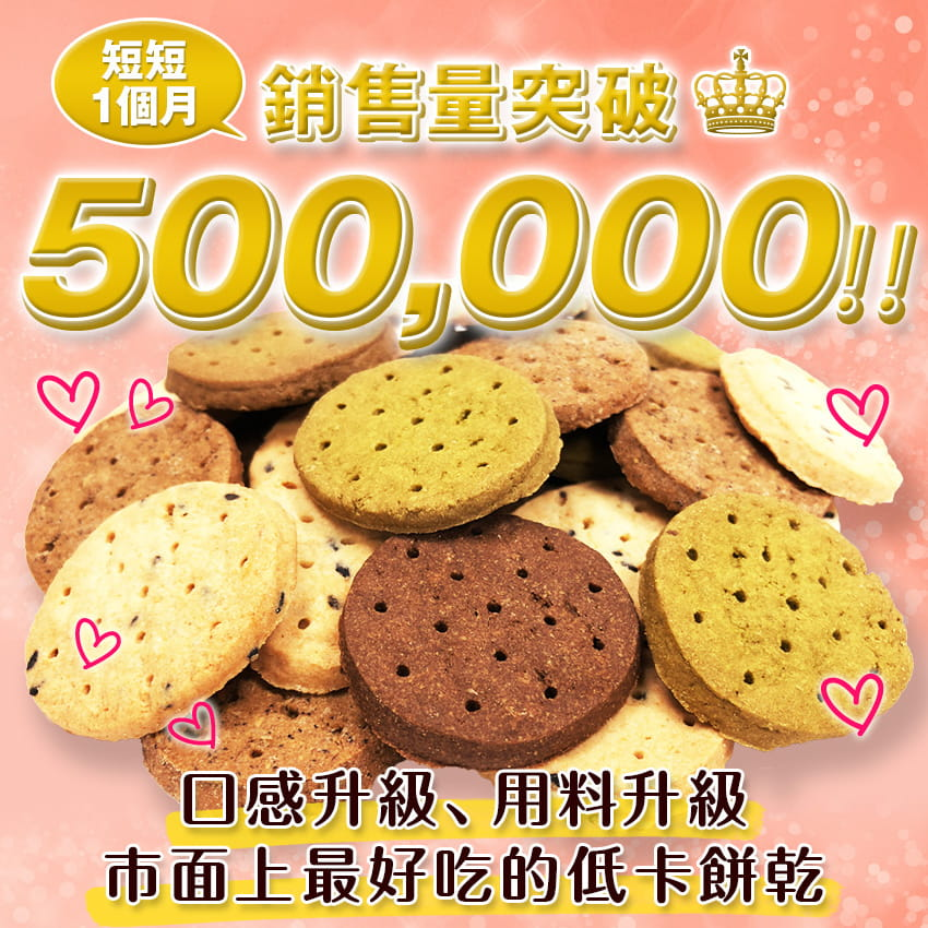 【Guilt FREE SWEETS】日本超人氣美身豆渣餅乾(24片/盒) 0