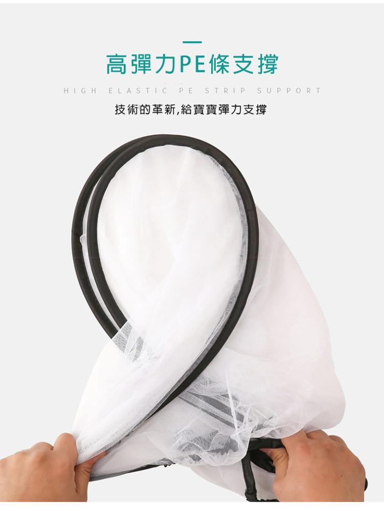【JAR嚴選】優選拉鍊式全罩推車蚊帳 ( 防蚊 全罩 蚊帳 ) 5