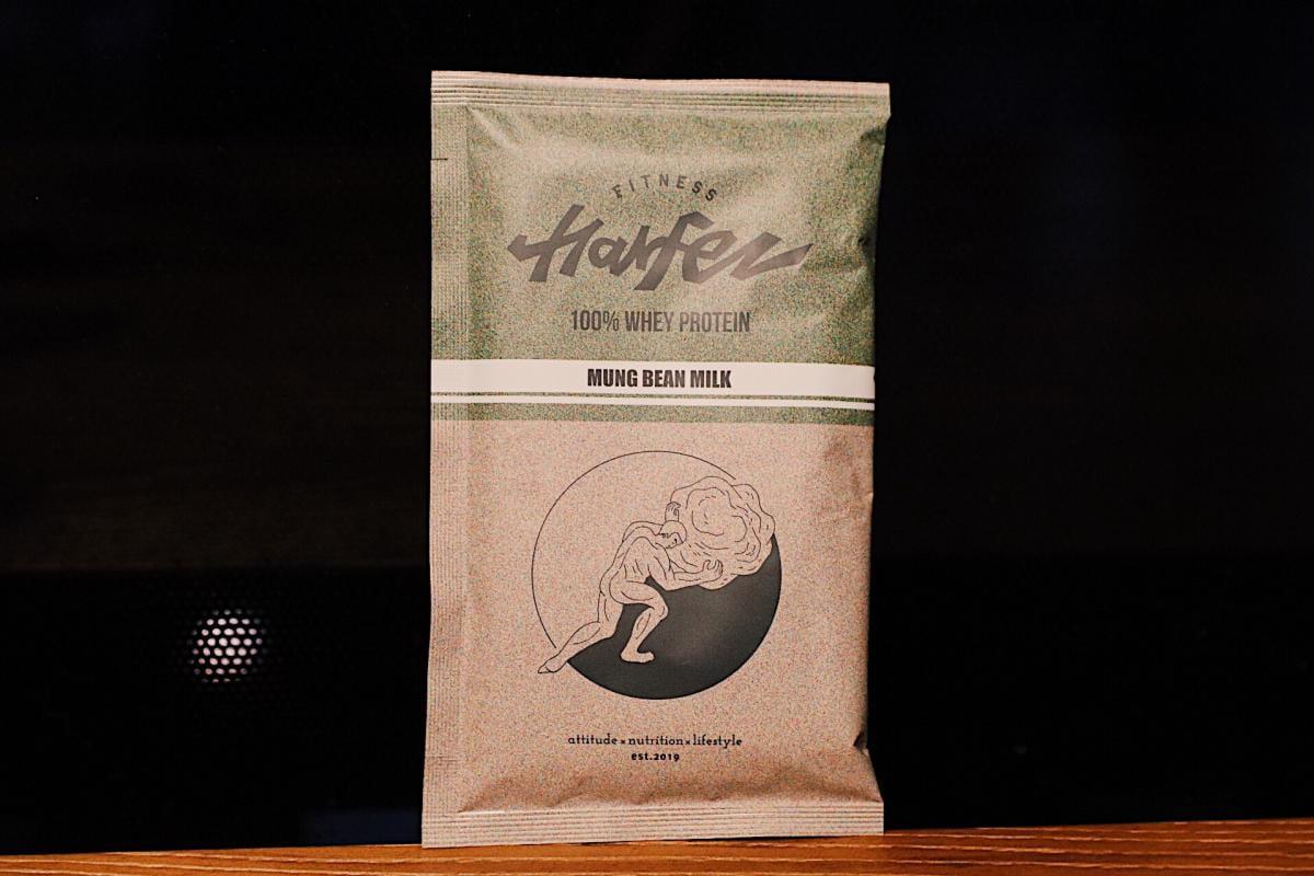【力宴健身】原創乳清蛋白 - 綠豆沙牛奶風味 1