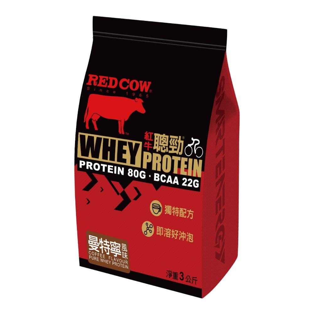 【紅牛聰勁】【紅牛】聰勁即溶乳清蛋白-曼特寧咖啡風味(3公斤) 0