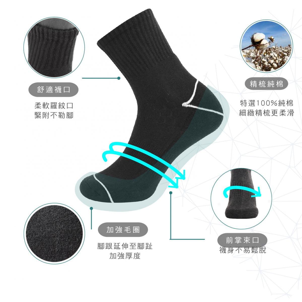 【FAV】加大尺碼男襪 1