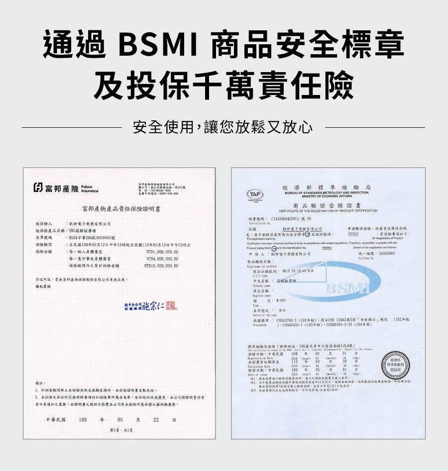 【SWG】筋膜按摩槍 (保固一年/BSMI認證/送八顆按摩頭/送收納盒) 17